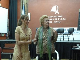 Gespräch mit der Organisation Madres de Plaza de Mayo - Mercedes de Meroño