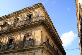 Altes Gebäude in Havanna Kuba