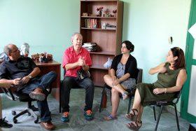 Gruppengespräch im Centrum für psychische Gesundheit