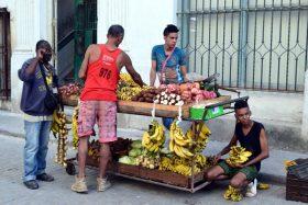Straßenverkauf in Trinidad Kuba