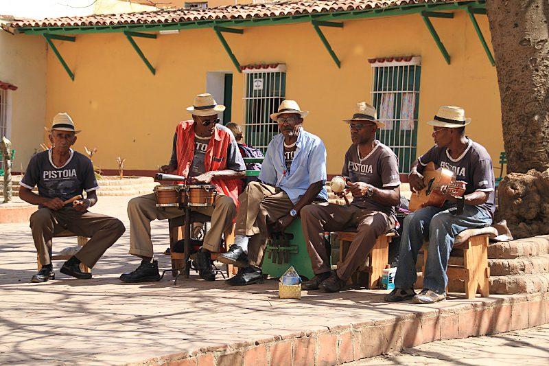 Musikgruppe auf Kuba