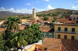 Dächermeer der Stadt Trinidad auf Kuba