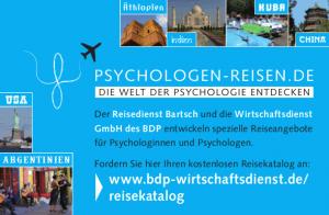 Kataloganzeige für Psychologenreisen