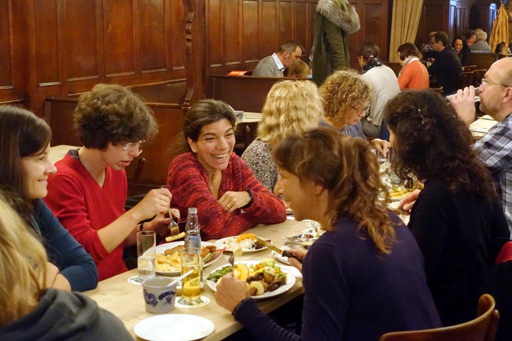 Mittagspause im Brauhaus beim Praxisgründungsseminar 2017 in Köln
