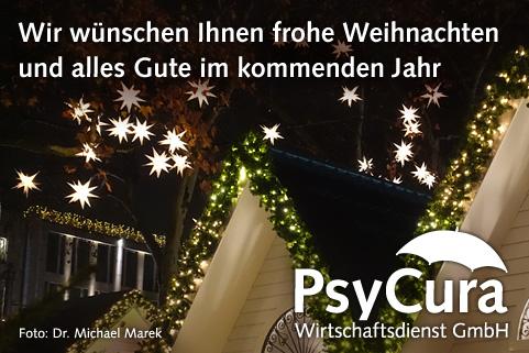 PsyCura GmbH Weihnachtsgruss 2018