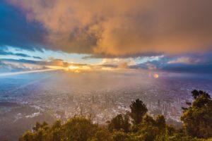 Bogota von Monserrate gesehen - Quelle: INTERCONTACT/Neptuno