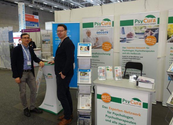 Dr. Michael Marek (PsyCura GmbH) auf dem DGPPN Kongreß 2019